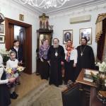 Детский хор Лавры поздравил владыку Павла с наступающим Рождеством Христовым