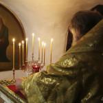 Наместник Лавры почтил память свт. Спиридона Тримифунтского