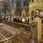 Наместник Лавры почтил память Святителя Николая
