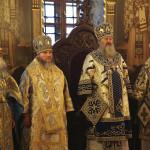Наместник совершил богослужения престольного праздника Лавры