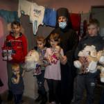 Братія обителі привітали дітлахів з днем Св. Миколая
