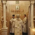 Наместник Лавры совершил Литургию в Иоанно-Предтеченском приделе
