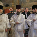 Священноархімандрит Лаври очолив Літургію в Різдвяний святвечір