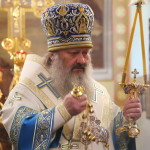 У свято Собору Пресвятої Богородиці Намісник Лаври звершив Літургію на Оболоні