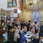 Братия Лавры посетили центр реабилитации для незрячих