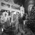 В Лавре совершены торжества в честь Рождества Христова