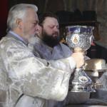 Священноархімандрит Лаври очолив богослужіння Хрещення Господнього