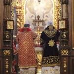 Владыка Павел возглавил Литургию в Богоявленском монастыре