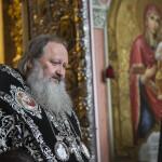Первую в этом году Литургию Преждеосвященных Даров возглавил Священноархимандрит Лавры