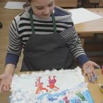 В воскресной школе Лавры изучают живопись