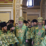 The Holy Archimandrite of Lavra led solemnities on Synaxis of all Caves' venerable fathers