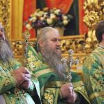 Священноархимандрит Лавры возглавил праздник Собора преподобных Печерских