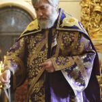 В день установления Евхаристии в Лавре совершены богослужения