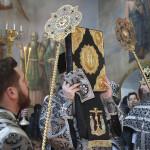 Последнюю в этом году Литургию Преждеосвященных Даров в Лавре возглавил Наместник