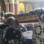 Богослужения выноса и погребения Плащаницы совершены в храмах Лавры