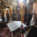 В Лавре совершено чтение Страстных Евангелий