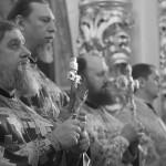 У Лаврі звершено богослужіння престольного свята Благовіщення