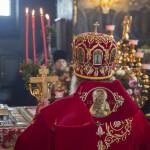 Владыка Павел совершил богослужения Светлой среды в Лавре