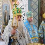 Наместник возглавил престольный праздник скита Лавры