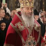 Богослужения Пасхи Христовой возглавил Предстоятель УПЦ