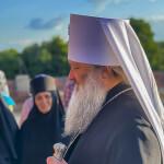 Владыка Павел совершил Литургию в день отдания праздника Вознесения Господня