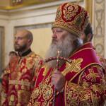 Последний в этом году Акафист Воскресению Христову возглавил митрополит Павел
