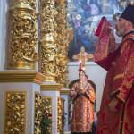Священноархимандрит Лавры возглавил богослужения Недели 6-й по Пасхе