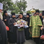 Братія привітали Намісника Лаври з днем тезоіменитства