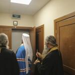 Владыка Павел освятил лаврский братский корпус