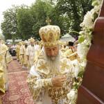 Накануне празднования Крещения Руси совершена всенощная в Лавре
