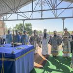 Наместник возглавил торжества в Иосафатовой долине
