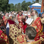 Наместник Лавры служил в Пантелеимоновском храме г. Киева