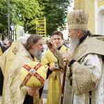 В Лавре прошли торжества годовщины интронизации Предстоятеля УПЦ