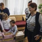 Священнослужитель Лавры навестил детвору из детского распределителя