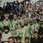 В Лавре почтили Собор преподобных Дальних пещер