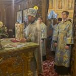 Наместник Лавры совершил Литургию в Введенском монастыре