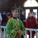 Наместник Лавры почтил память прпп. Сергия Радонежского и Досифеи Киевской
