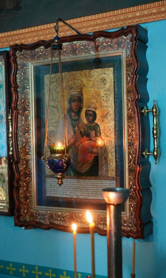 Любечская икона Божией Матери в Озерянах