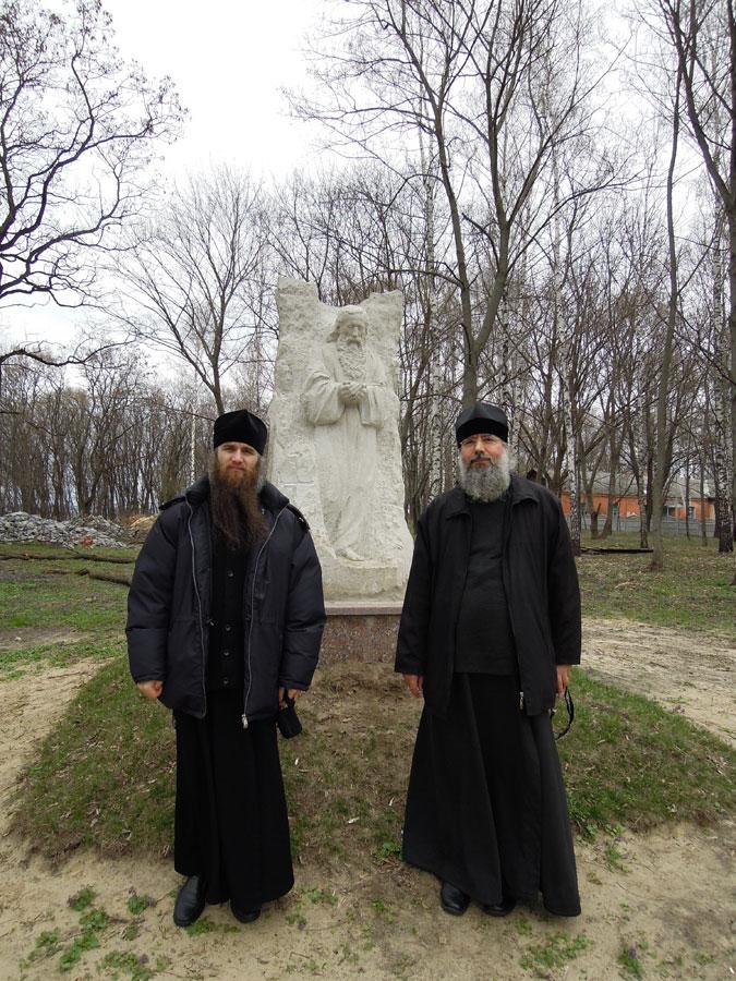Памятник преподобному Антонию Печерскому