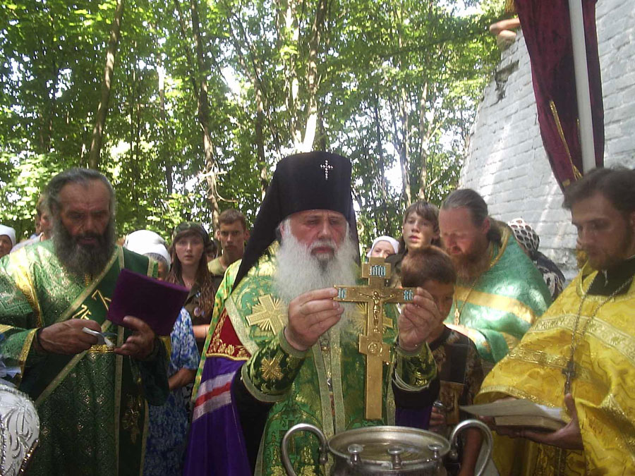Молебен в день памяти преподобного Антония Печерского