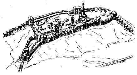 Реконструкция древнего княжеского замка