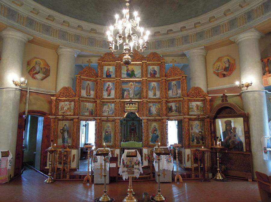 Спасо-Преображенский храм (иконостас)