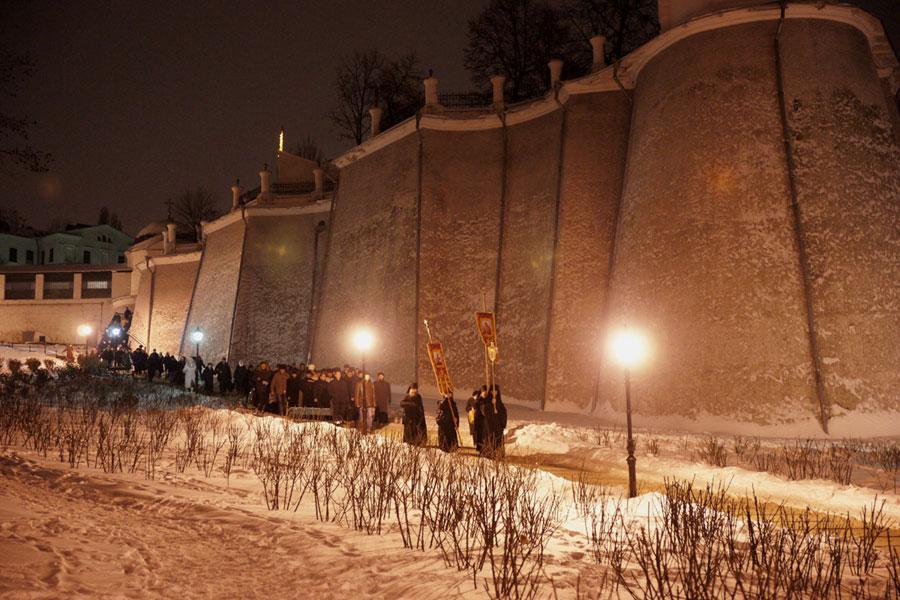 Печерская обитель встретила праздник Богоявления