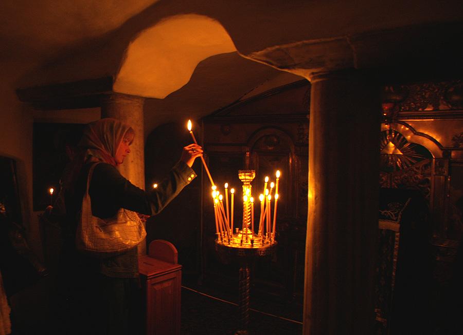 В лаврском пещерном храме – престольный праздник