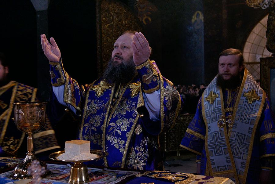 В первую субботу Великого поста многие верующие приступили к причастию