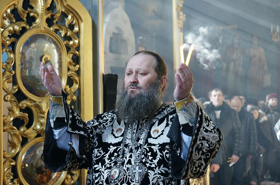 В Лавре совершена первая Литургия Преждеосвященных Даров