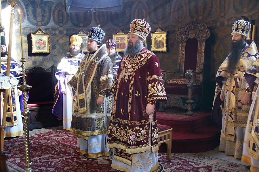 В Лавре почтили память преподобного Иоанна Лествичника