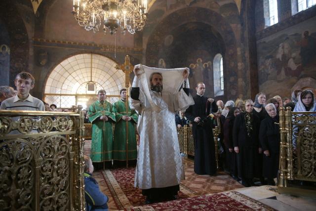 В Лавре совершили празднование Собора всех преподобных Киево-Печерских