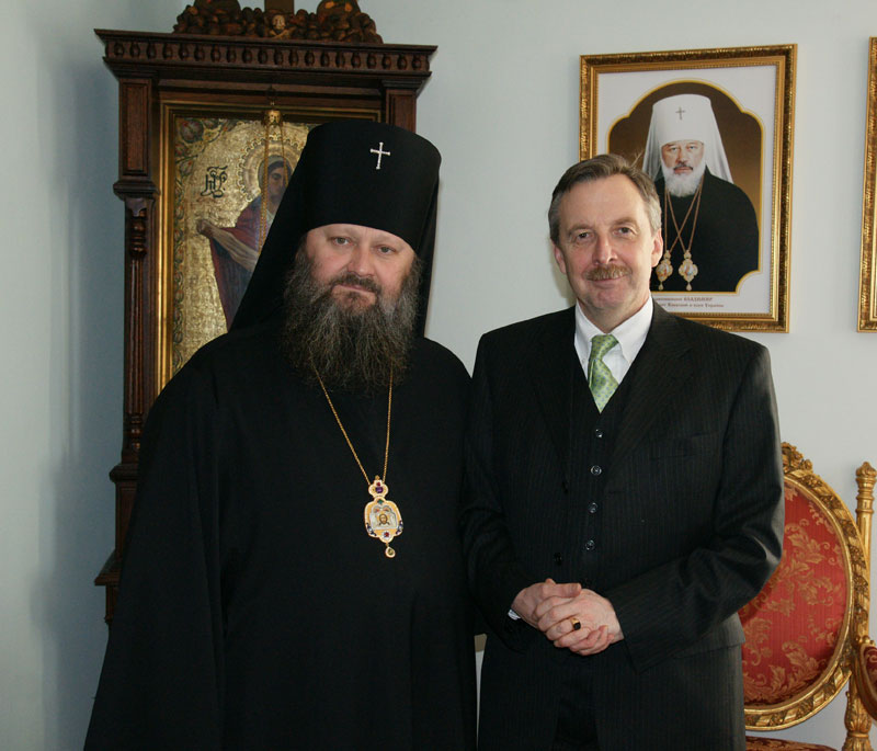 Состоялась встреча наместника Лавры с Послом Федеративной Республики Германия