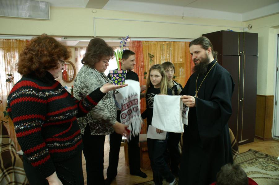 Детский дом «Малятко» принял гостей из Лавры